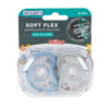 Picture of Soft-Flex Orthodontic Pacifiers 6-12 Months - 2 Pack