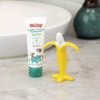 Picture of Toddler Training Toothpaste with Banana Toothbrush