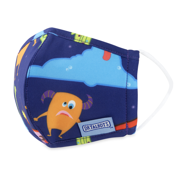 Picture of Cloth Face Mask - Ages 2-5 - 1 pack - Monsters