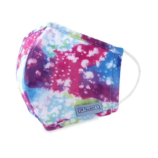 Picture of Cloth Face Mask - Ages 6-12 - 1 pack - Rainbow Watercolor