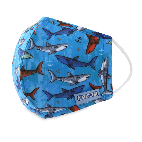 Picture of Cloth Face Mask - Ages 6-12 - 1 pack - Sharks