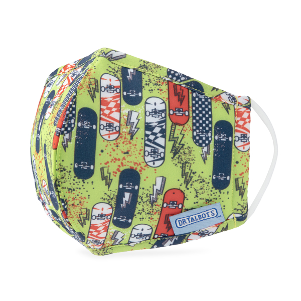 Picture of Cloth Face Mask - Ages 6-12 - 1 pack - Skateboards