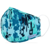 Picture of Adult Flat-fold Cloth Mask with Filter Pocket - 1 pack - Blue Paint