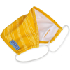 Picture of Adult Flat-fold Cloth Mask with Filter Pocket - 1 pack - Yellow Arrows