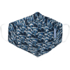 Picture of Adult Cup-style Cloth Mask - 1 pack - Waves