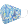 Picture of Adult Cup-style Cloth Mask - 1 pack - Blue & Pastel Water Colors