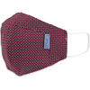 Picture of Adult Cup-style Cloth Mask - 1 pack - Black Dots on Red