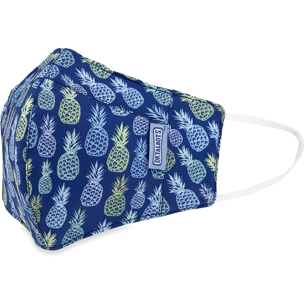 Picture of Adult Cup-style Cloth Mask - 1 pack - Pineapples