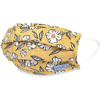 Picture of Adult Pleated Cloth Mask - 1 pack - White Flowers on Yellow