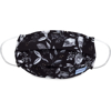 Picture of Adult Pleated Cloth Mask - 1 pack - White Leaves on Black